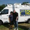 Danny Ladd w/ Della Crews of News12